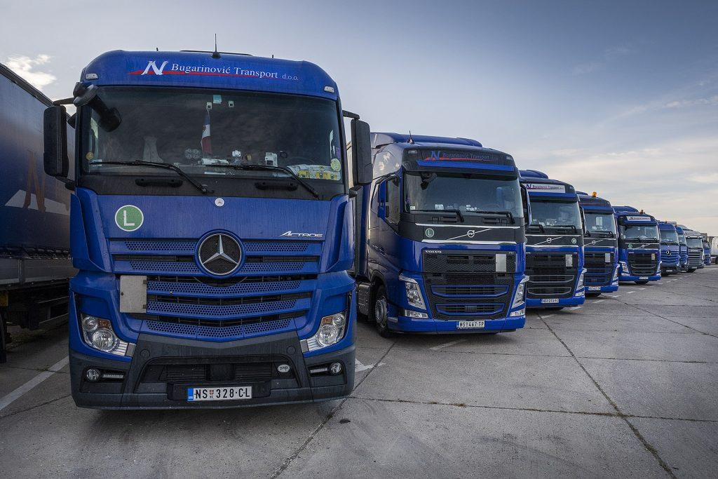 Parking za kamione Bugarinovic transport, Truckstop Bugarinovic