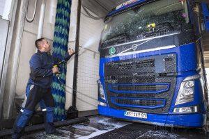 Pranje kamiona Bugarinovic transport