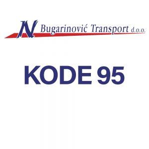 Polaganje KODE 95