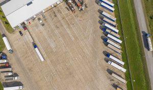 Truckstop Bugarinovic slika iz drona